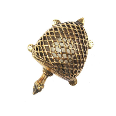 Brass Tortoise Candle Holder - Giftingnation - 2