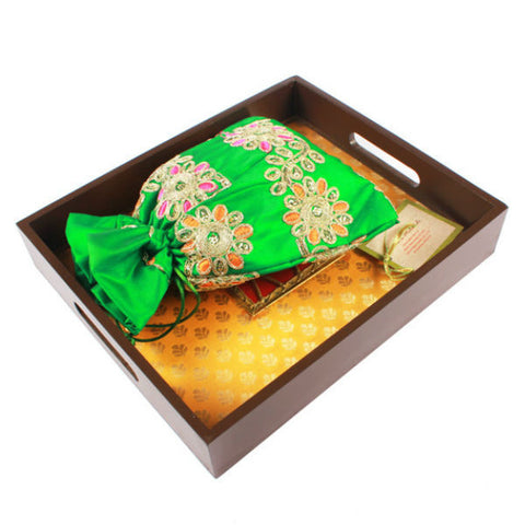 Fabric Lined Serving Tray - Giftingnation - 2
