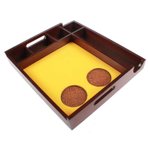 Serving Tray With Multiple Holder Slots - Giftingnation - 2
