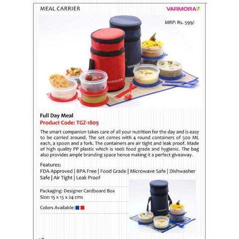 Full Day Meal Lunch Box Set