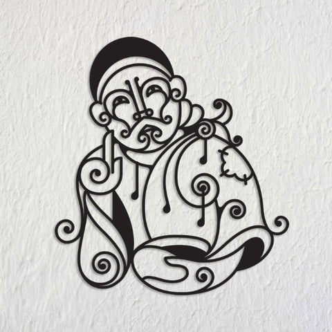 Om Sai Metal Art Mural