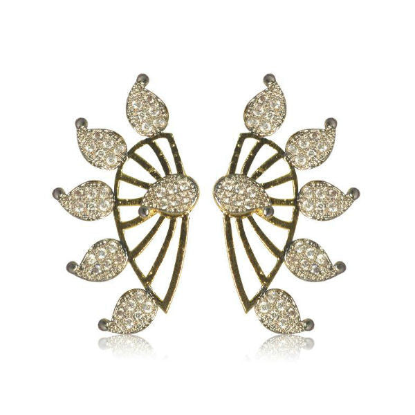 Fascinating CZ Studded Earrings - Giftingnation - 1
