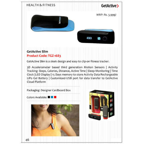 GetActive Slim Fitness Band