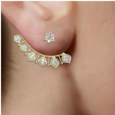 Classy CZ Studded Earrings - Giftingnation - 2