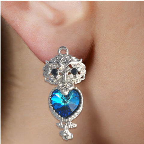 Blue Love Earrings - Giftingnation