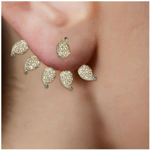 Fascinating CZ Studded Earrings - Giftingnation - 2