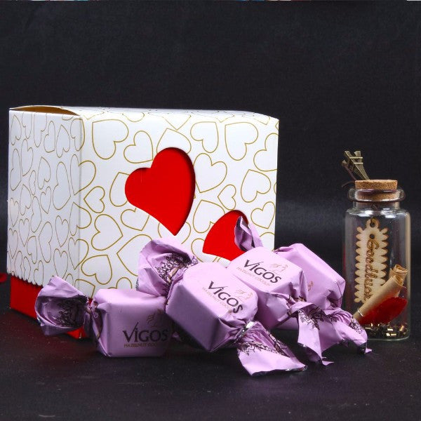 Vigos Chocolate with Small Massage bottle for MOM