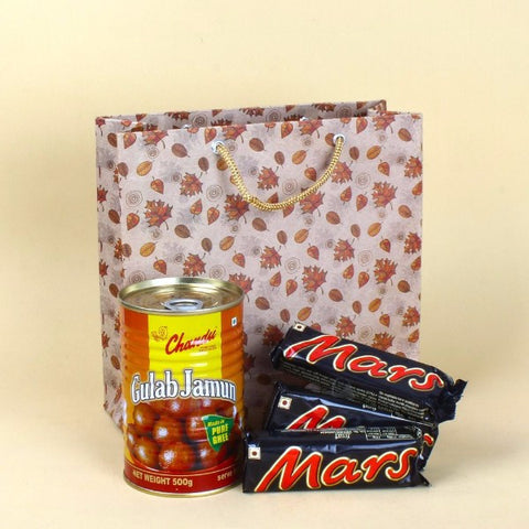 Gulab Jamun Tin with Mars Chocolates