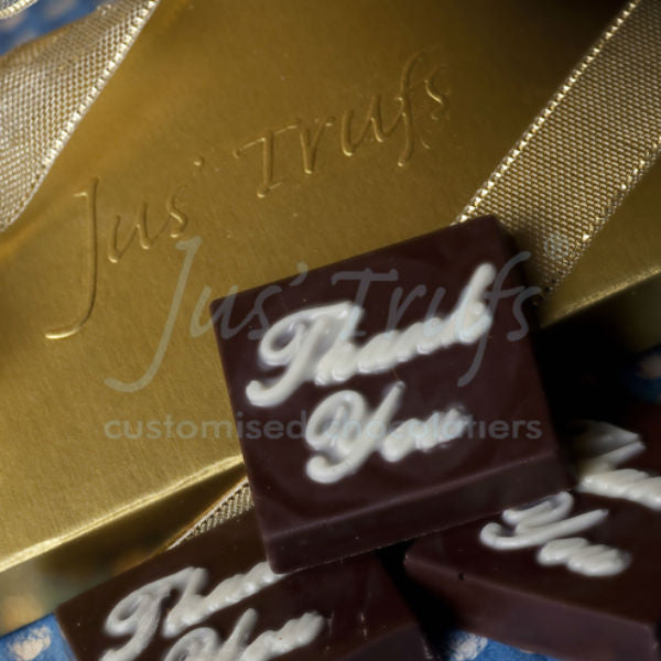 Thank You Personalised Chocolate Gift Box - Giftingnation
