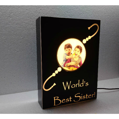 Dor - Rakhi Personalized Lamp with Caption