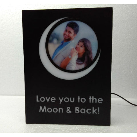 Love, to the Moon!- Personalized Lamp