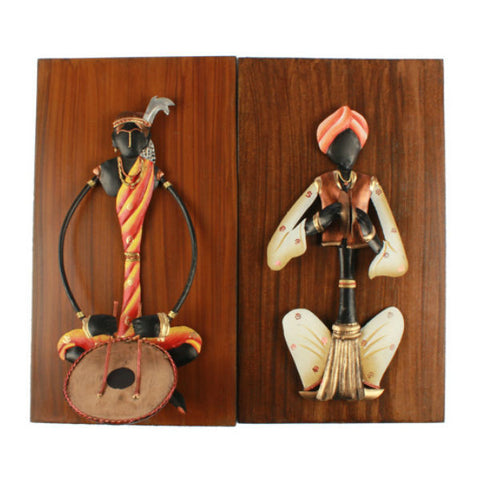 Musician Wall Hanging Set ( Pair 3 ) - Giftingnation - 1