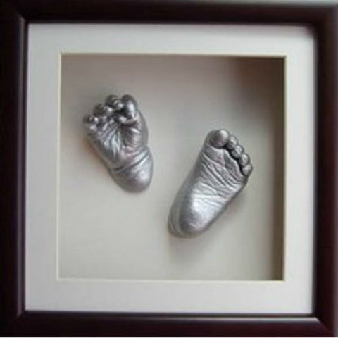 3D Casting of Hand & Foot Silver