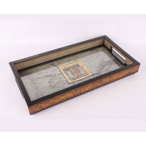Serving Tray with Stone Veneer - Giftingnation - 1