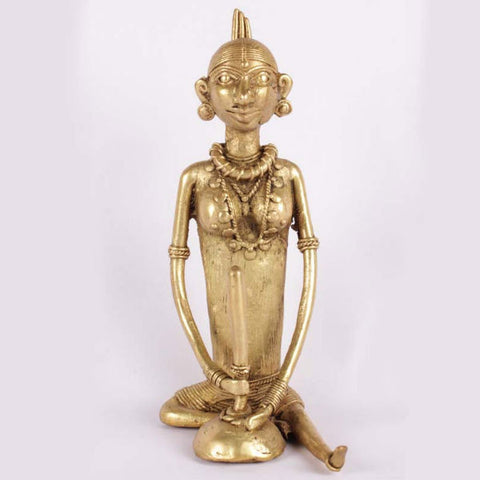 Bell Metal Dhan Kutenwali Showpiece - Giftingnation