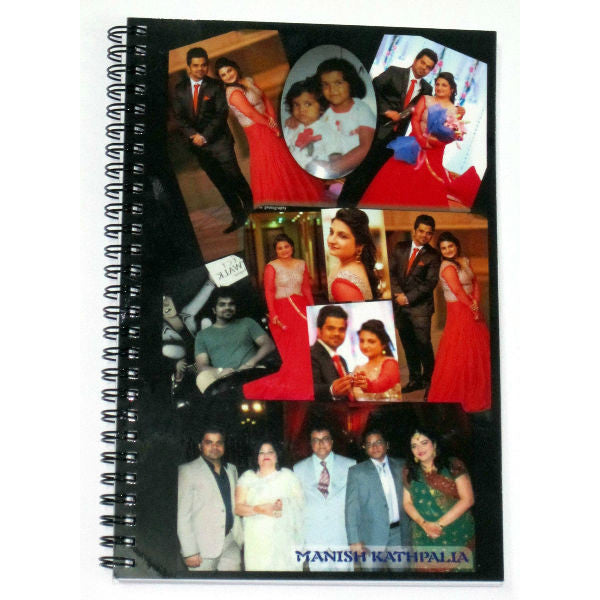 Personalised Spiral NoteBook - Giftingnation
