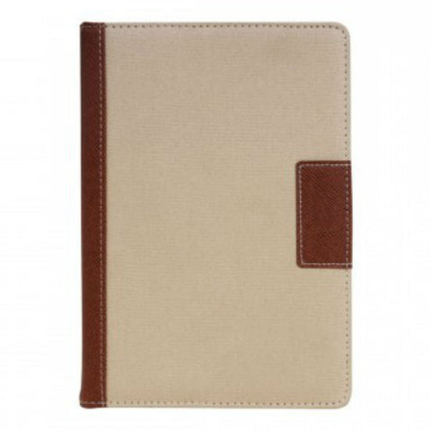 Cotton Handy Diary Brown