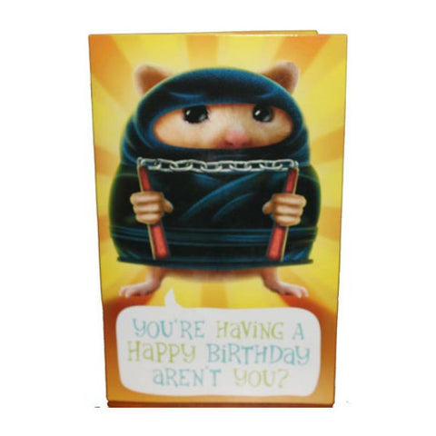 Don't Make Ninja! Archies Birthday Greeting Card - Giftingnation