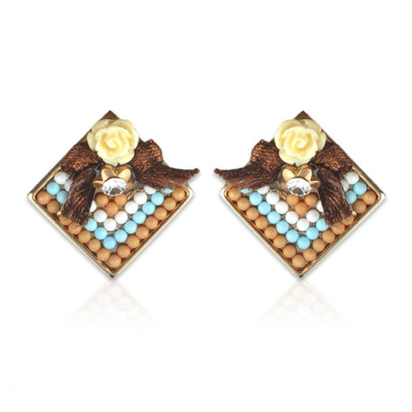 Yellow for Friendship Earrings - Giftingnation - 1