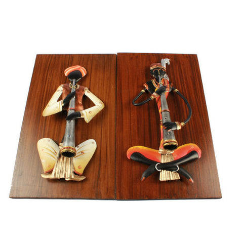 Musician Wall Hanging Set ( Pair 1 ) - Giftingnation - 2