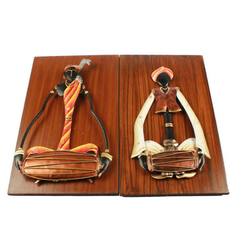 Musician Wall Hanging Set ( Pair 4 ) - Giftingnation - 2