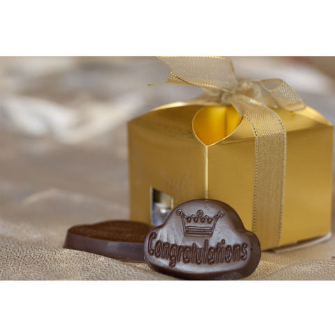 Congratulations Personalised Chocolate Gift Box (250 Gms) - Giftingnation