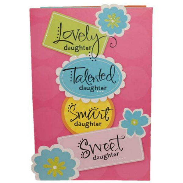 Lovely Daughter Archies Greeting Card - Giftingnation
