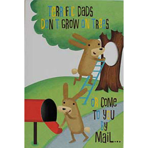 Terrific Dad Greeting Card - Giftingnation