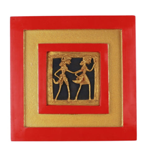 Tribal Figurine Wall Hanging Red - Giftingnation