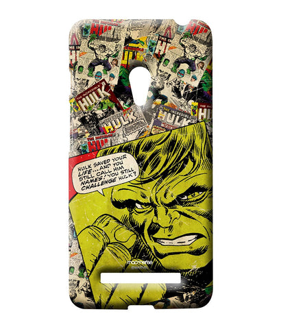 Comic Hulk Sublime Case for Asus Zenfone 5 - Giftingnation