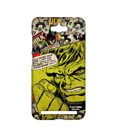 Comic Hulk Sublime Case for Asus Zenfone Max - Giftingnation