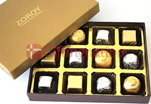 Assorted Chocolate Gift Box- 12 - Giftingnation