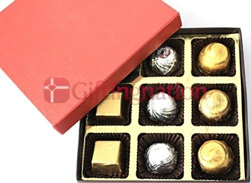Assorted Chocolate Gift Box of 9 - Giftingnation