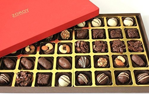 Assorted Chocolate Signature Deluxe Red 40 Assorted Chocolates - Giftingnation