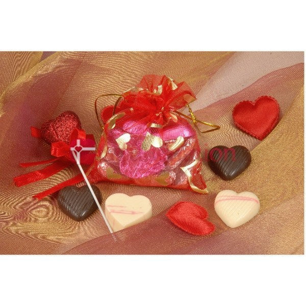 Bagfull of Hearts Chocolate Gift - Giftingnation