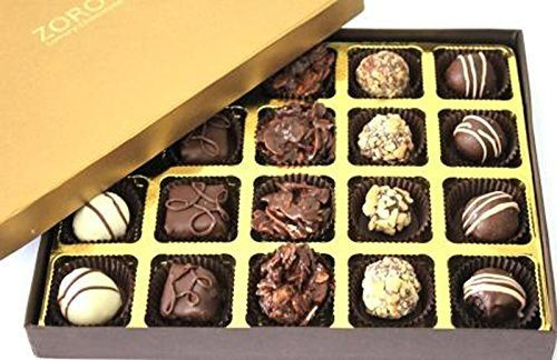 Chocolate Gift Box Signature Gold 20 Assorted chocolates - Giftingnation