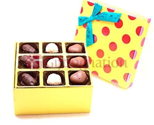 Chocolate Gift Box with 18 Belgian Assorted Chocolates - Giftingnation