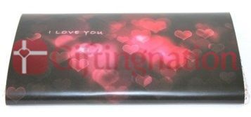 "Chocolate I Love You Bar 200gms bar with ""I love you""message - Giftingnation"