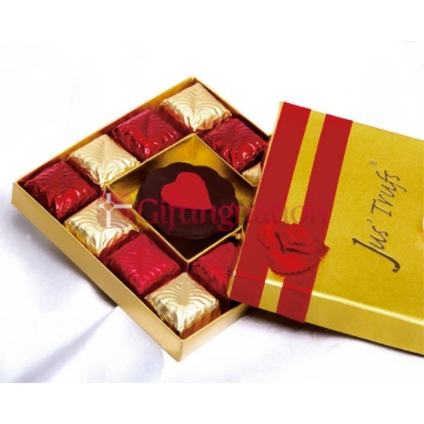 Dark Couverture Valentine Chocolate Gift Box - Giftingnation