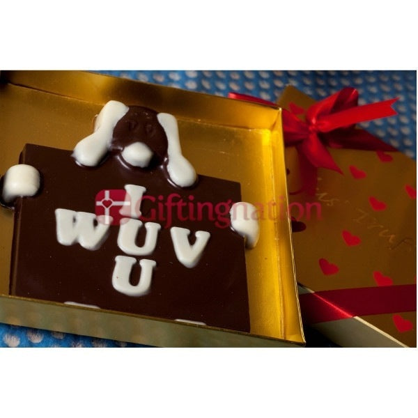 I Wuv U Chocolate Gift Box - Giftingnation