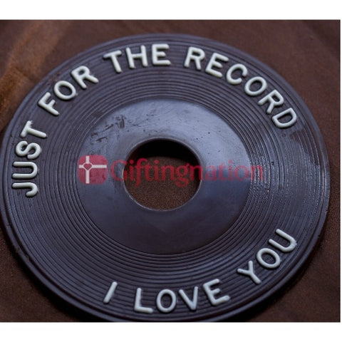 Just for the Record I Love You Chocolate Gift Box - Giftingnation