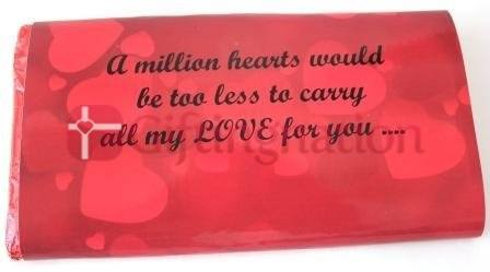 My love Chocolate Bar - Giftingnation