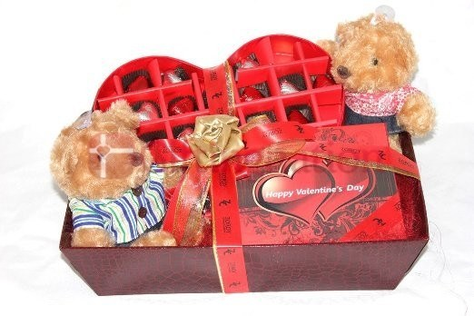 Passionate Love Chocolate Gift Hamper - Giftingnation
