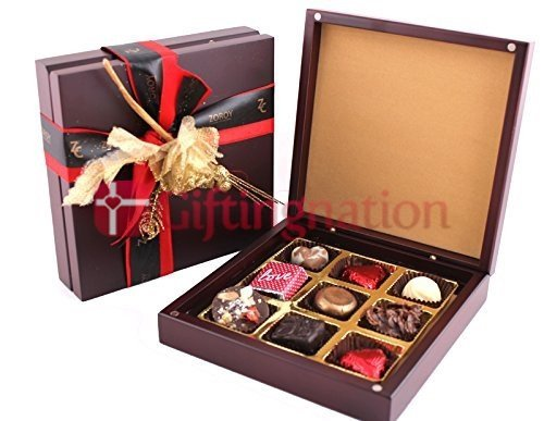 Pure Wood Chocolate Gift Box - Giftingnation