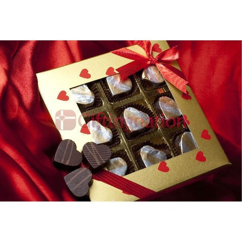 Romantic Heart Chocolate Gift Box - Giftingnation
