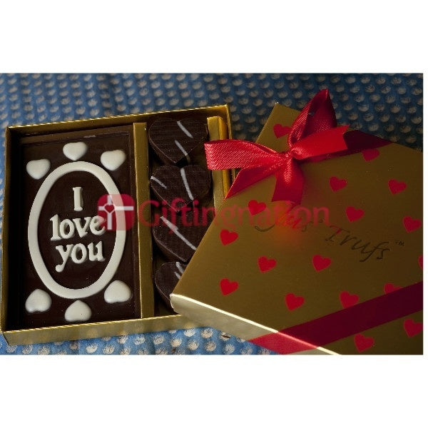 Romantic I Love You Chocolate Gift Box - Giftingnation