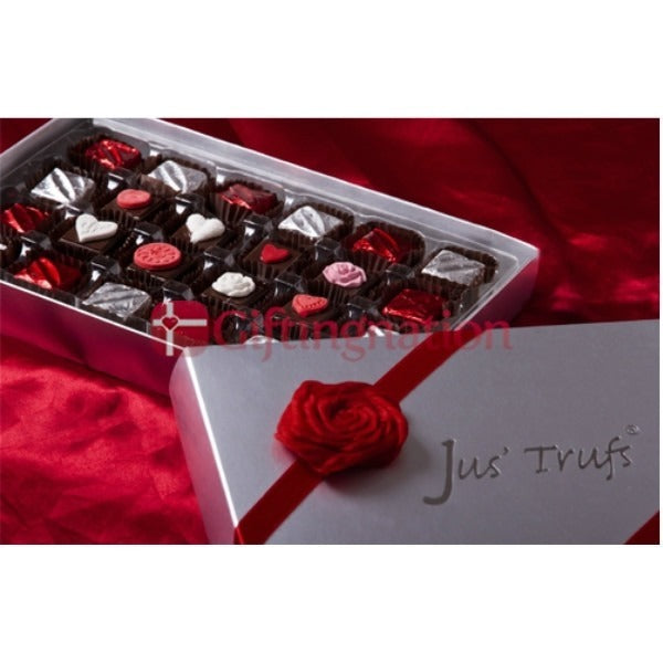 Valentines Truffle Chocolate Gift Box - Giftingnation