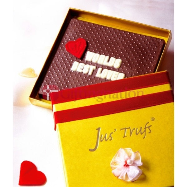 Worlds Best Lover Chocolate Gift Box - Giftingnation