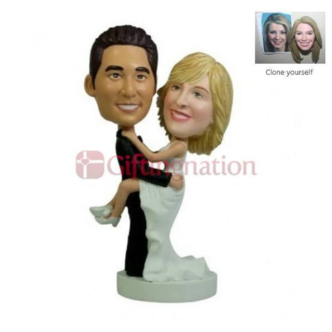 Custom Bobblehead Crazy Couple - Giftingnation
