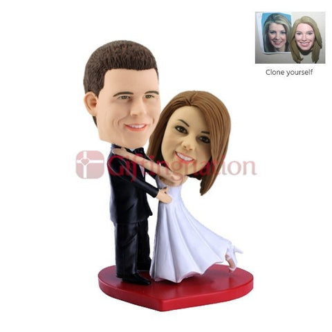 Custom Bobblehead Dance Step Couple - Giftingnation